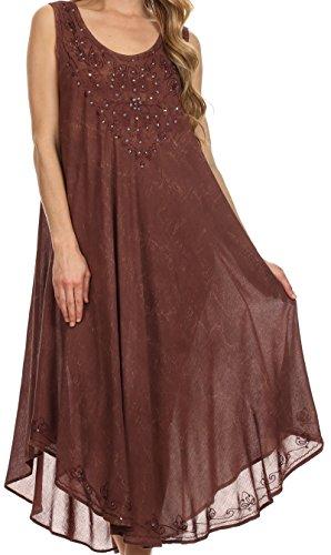 Sakkas Mariko Stonewashed Caftan Dress / Cover Up