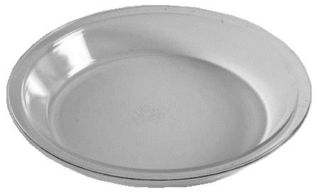 Corning Ware / Pyrex Originals Clear Pie Serving Plate ( 9