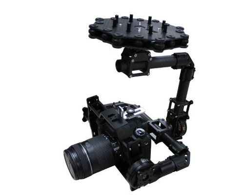 Xt-Xinte Dys Brushless Blg5D Aerial Ptz Gimbal With 3 Axis Alexmos Controller / Motor For Dslr Camera