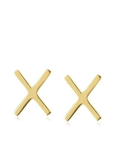 Kacey K Polished X Earrings