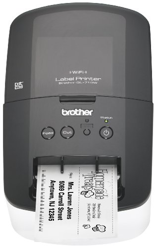 Brother High-Speed Label Printer with Wireless Networking (QL710W)