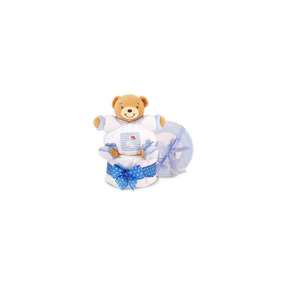 Blue Kaloo Patapouf Sailor Diaper Cake or Baby Shower Centerpiece