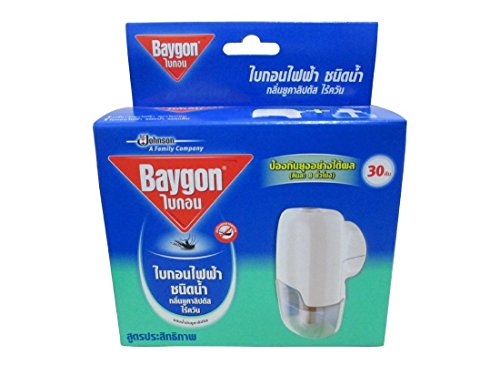 Baygon Liquid Electric Mosquito Repeller 30 Nights - Eucalyptus Aroma Without Smoke