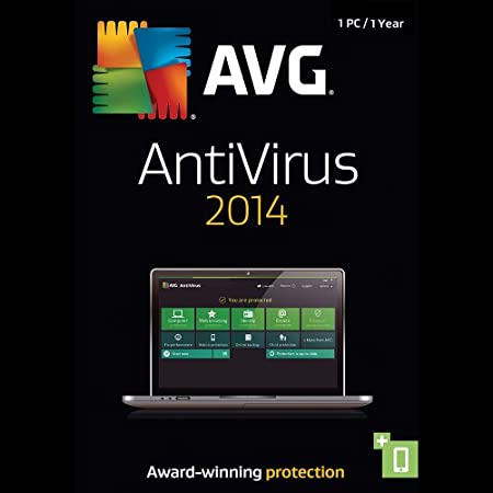 AVG AntiVirus 2014, 1-User 1-Year - ESD [Download]