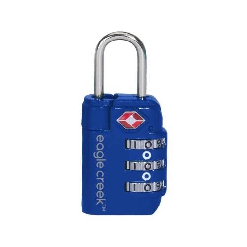 EAGLE CREEK TRAVEL SAFE TSA LOCK (PACIFIC BLUE) (Parallel Imported Product)