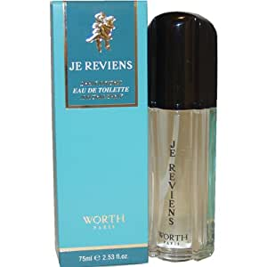 Je Reviens 2.5 Fl. oz. (75 ml) Eau De Toilette Spray Women By Worth