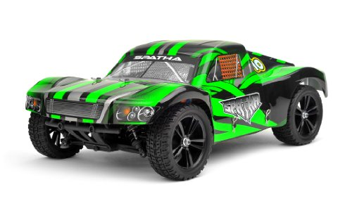 Iron Track RC Spatha 1:10 Scale 4WD Brushless Short Course Truck Almost Ready to Run (Green)