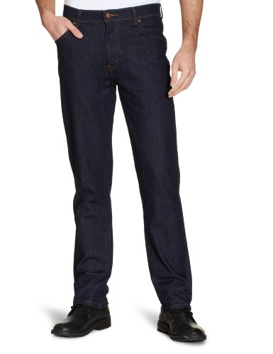 Wrangler - Jeans Regular Fit, Uomo, Blu (Blau (darkstone 009)), 60 IT (46W/34L)