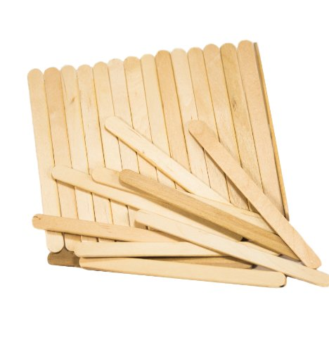 "Perfect Stix Wooden Craft Sticks/Ice Cream Sticks 4.5"" Length ( pack of 100)"