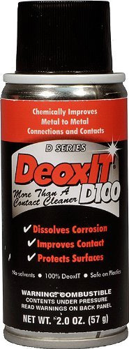 DeoxIT%C2%AE D100 Spray NSN 6850 01 435 6478 solution