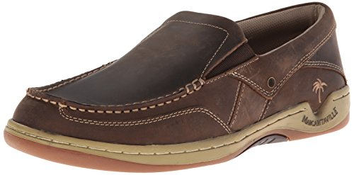 Margaritaville Footwear Men's Havana Boat Shoe, Brown, 12 M US