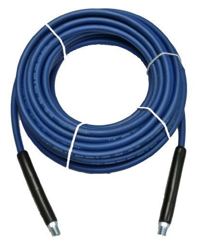 1/4″ x 100′ Blue Carpet Cleaning Solution Hose 3,000 PSI