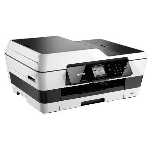 Brother MFC-J6520DW Stampante Multifunzione a Colori Full A3 con Fax, Scanner e ADF, Bianco