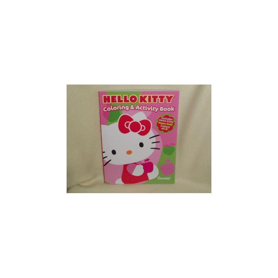 Hello Kitty Coloring & Activity Book