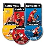 Kettleworx Advanced Kettlebell Workout 3 DVD Set