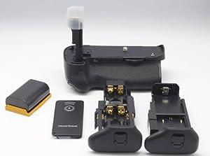 QUMOX 1x LP-E6 LPE6 + Batterie grip Pour Canon BG-E11 BGE-11 EOS 5D Mark 3 III