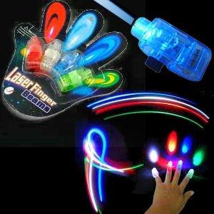 SODIAL- Laser Finger Beams激光手指灯玩具