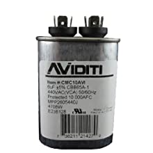 Aviditi 10AVI Capacitor, 6 Microfarad, 440-Volt
