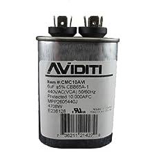 Aviditi 10AVI Capacitor, 6 Microfarad, 440-Volt