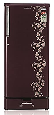 Kelvinator KW204LST Direct-cool Single-door Refrigerator (190 Ltrs, 4 Star Rating, Pastel Red)