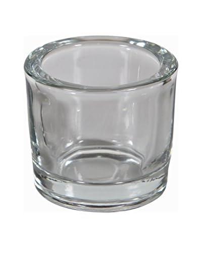 Unico Set Porta Tealight 3 Pezzi Waxine Trasparente