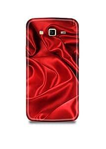 Red Fabric Samsung J3 Case