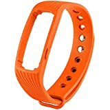 BAB Heart Rate Monitor Wireless Fitness Tracker ID107 Bluetooth 4.0 Touch Screen Smart Wristband With Multi-Functions...