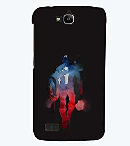 PRINTSWAG SOLDIER Designer Back Cover Case for HUAWEI HONOR HOLLY