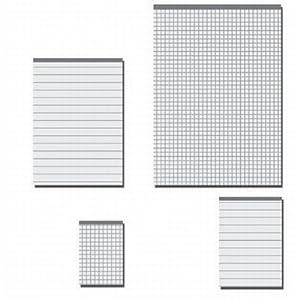 notiz schreibblocks din a5 blanko b robedarf schreibwaren. Black Bedroom Furniture Sets. Home Design Ideas