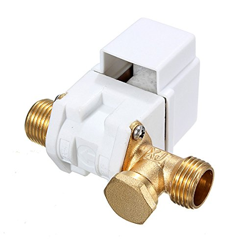 12V Dc 1/2Inch Electric N/C Solenoid Valve For Water Air