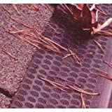 "Gutter Screen Set of 5 (Brown) (35""L x 6 1/2""W (each of 5 panels)) ~ L.B. Plastics, Inc."