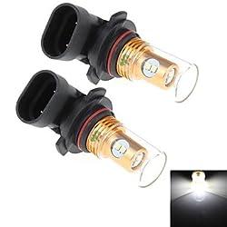 See 2Pcs 9005 8W 8x Samsung 2323 SMD 450LM 6000K White Light LED for Car Turn Steering / Reversing Lamp (DC 12-24V) Details