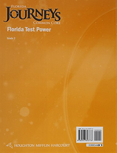 Houghton Mifflin Harcourt Journeys Florida: Florida Test Power Student Edition Grade 2