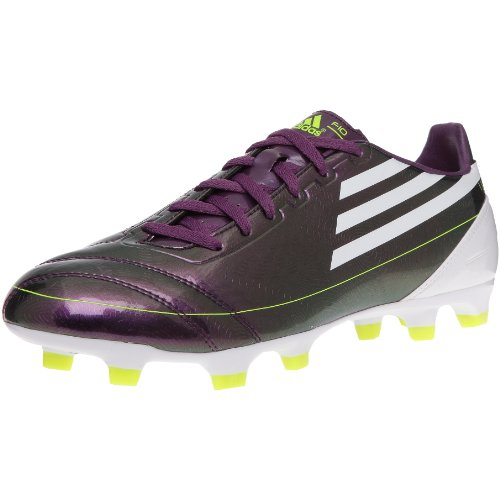 ADIDAS F10 TRX FG Men's Football Boots, PurpleWhite, UK9