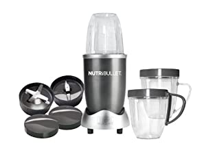 Nutri Bullet Nbr-12 12-piece Hi-speed Blendermixer System from The Nutrition Nut 1688290521