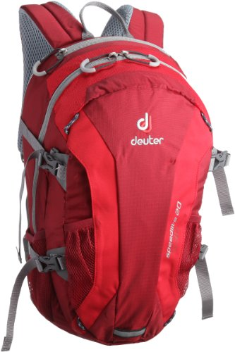 Deuter Alpinrucksack Speed lite 20, cranberry-fire, 48 x 26 x 18, 33121