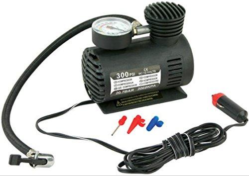 Coido b31 Dealcrox Autofurnish Destorm 300Psi 12V Car Black Electric Air Compressor Tyre Pump