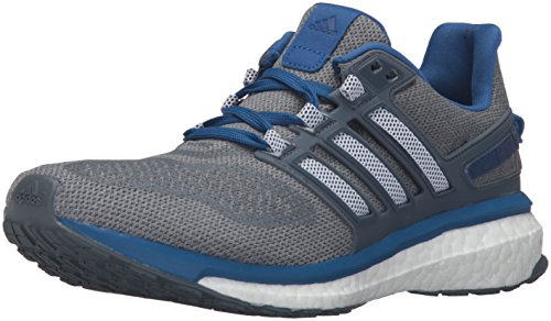 Adidas Performance Men's Energy Boost 3 M Running Shoe,Mid Grey/Black/Equipment Blue,10.5 M US