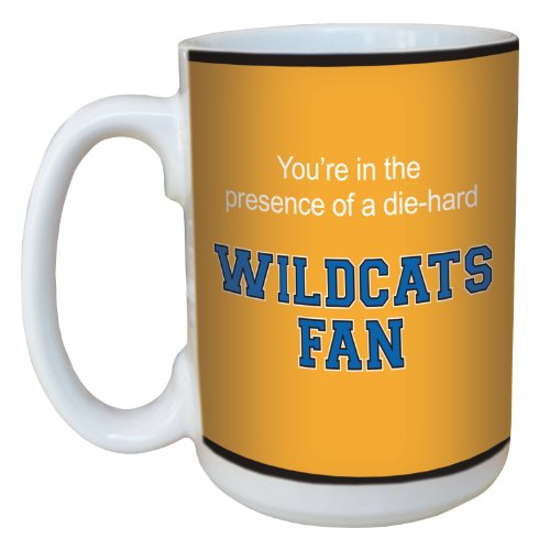 Tree-Free Greetings Lm44753 Wildcats College Basketball Ceramic Mug With Full-Sized Handle, 15-Ounce