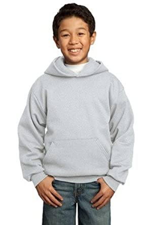 Port and Company Youth Pullover Hooded Sweatshirt by Port & Company