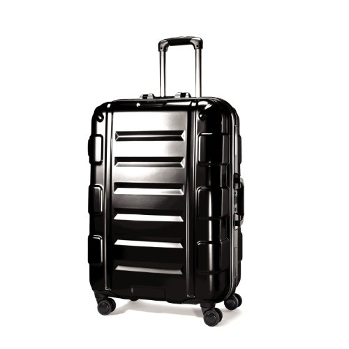 Samsonite Luggage Cruisair Bold Spinner Bag, Black, 22 best offers