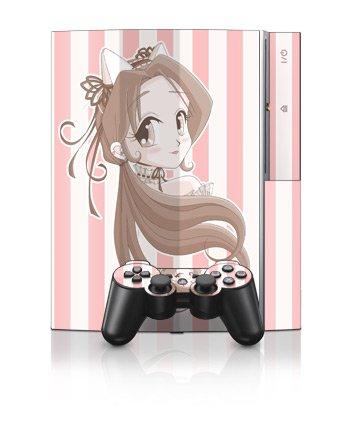 Lolita de Chocolate Design PS3 Playstation 3 Body Protector Skin Decal Sticker