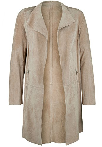 Oakwood -  Cappotto  - Basic - Maniche lunghe  - Donna beige XL