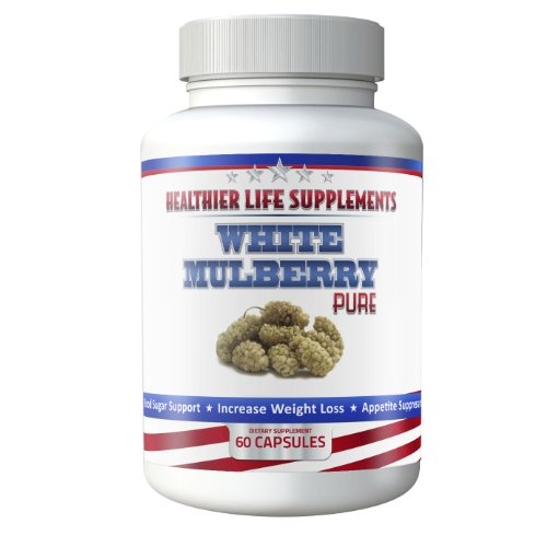 Pure White Mulberry | White Mulberry Leaf Extract, Known For Its Health Benefits To Help You Maintain A Balanced Diet, Protect The Immune System And Help You Lose Weight | Another Quality Health Product By Healthier Life Supplements - Contains Mulberry Le