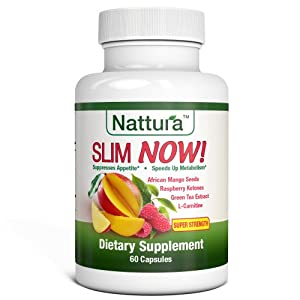 Amazon.com: SLIM NOW! - Weight Loss Supplement With African Mango Seed ...