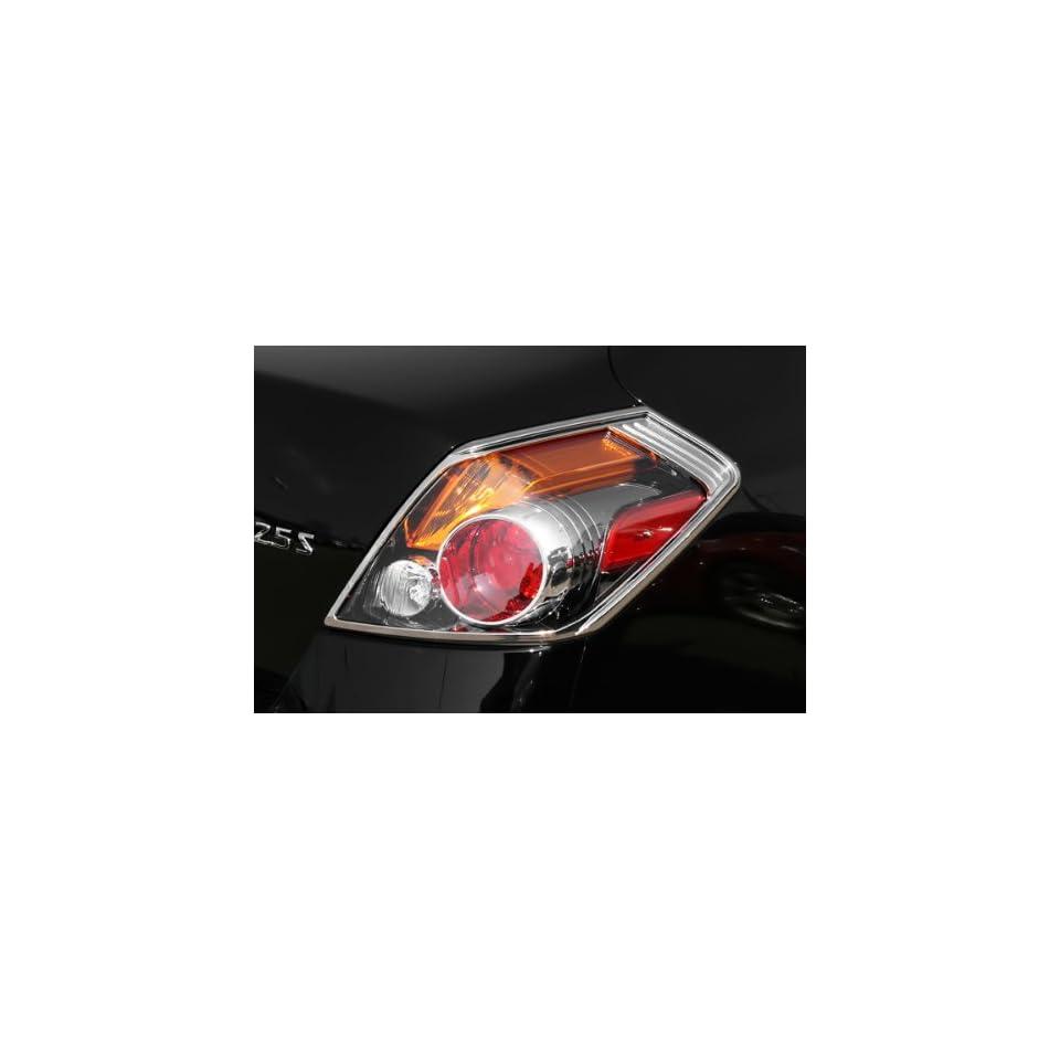 Putco 400863 Chrome Tail Light Cover for Select Nissan Models