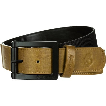 Skullcandy Division Belt - Men'S Black/Tan, L