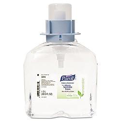 PURELL - Green Certified Instant Hand Sanitizer Foam, 1200mL FMX Refill, 3/Carton 5191-03 (DMi CT by PURELL