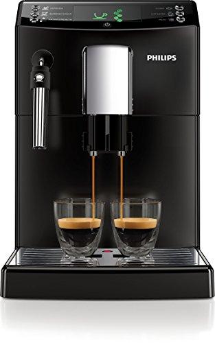 Philips HD8831/01 3100 Serie Kaffeevollautomat, klassischer Milchaufschäumer, schwarz thumbnail