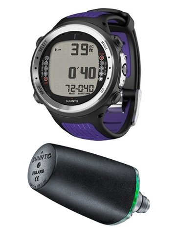 Suunto by Aqua Lung D4i Lilac Wrist Computer With Transmitter aqualung трубка aqualung palau lx